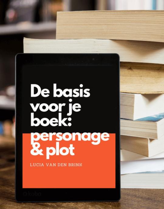 ebook boek schrijven de basis personage en plot uitwerken maken schrijf