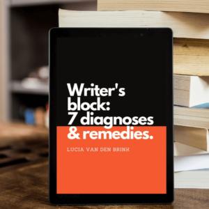 writer's block diagnoses en oplossingen om je boek te schrijven als het niet lukt